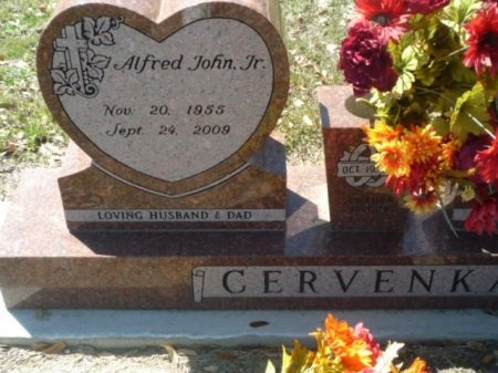 CERVENKA, JR., ALFRED JOHN - Williamson County, Texas | ALFRED JOHN CERVENKA, JR. - Texas Gravestone Photos