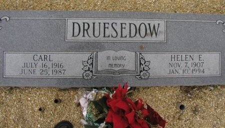 JOHNSON DRUESEDOW, HELEN ELSIE MARIA - Williamson County, Texas | HELEN ELSIE MARIA JOHNSON DRUESEDOW - Texas Gravestone Photos
