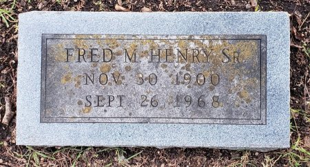 HENRY, FRED M - Williamson County, Texas | FRED M HENRY - Texas Gravestone Photos