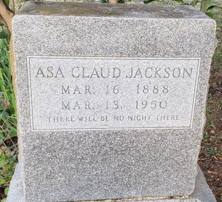 JACKSON, ASA CLAUD - Williamson County, Texas | ASA CLAUD JACKSON - Texas Gravestone Photos