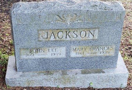 JACKSON, MARY FRANCES - Williamson County, Texas | MARY FRANCES JACKSON - Texas Gravestone Photos