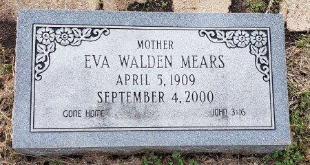 MEARS, EVA WALDEN - Williamson County, Texas | EVA WALDEN MEARS - Texas Gravestone Photos