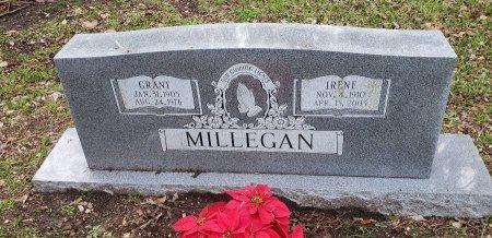 MILLEGAN, IRENE - Williamson County, Texas | IRENE MILLEGAN - Texas Gravestone Photos