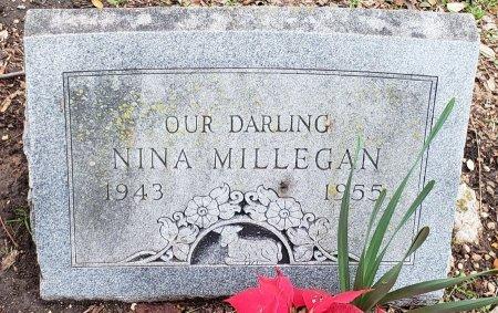 MILLEGAN, NINA - Williamson County, Texas | NINA MILLEGAN - Texas Gravestone Photos