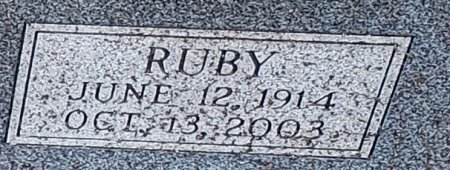 MILLEGAN, RUBY (CLOSEUP) - Williamson County, Texas | RUBY (CLOSEUP) MILLEGAN - Texas Gravestone Photos
