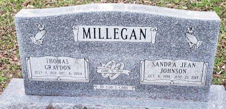 JOHNSON MILLEGAN, SANDRA JEAN - Williamson County, Texas | SANDRA JEAN JOHNSON MILLEGAN - Texas Gravestone Photos