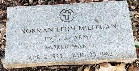 MILLEGAN (VETERAN WWII), NORMAN LEON - Williamson County, Texas | NORMAN LEON MILLEGAN (VETERAN WWII) - Texas Gravestone Photos