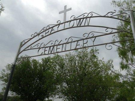 *CEMETERY SIGN,  - Wilson County, Texas |  *CEMETERY SIGN - Texas Gravestone Photos