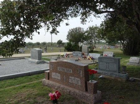 *CEMETERY VIEW,  - Wilson County, Texas |  *CEMETERY VIEW - Texas Gravestone Photos