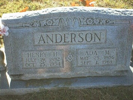 ANDERSON, HENRY HARRISON - Wise County, Texas | HENRY HARRISON ANDERSON - Texas Gravestone Photos
