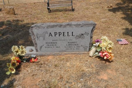 APPELL, RODNEY LAWRENCE - Wise County, Texas | RODNEY LAWRENCE APPELL - Texas Gravestone Photos