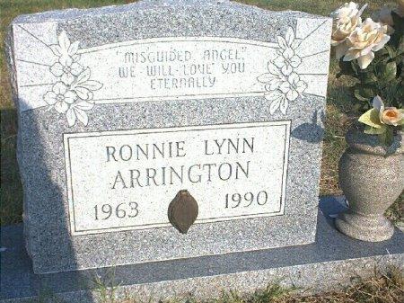 ARRINGTON, RONNIE LYNN - Wise County, Texas | RONNIE LYNN ARRINGTON - Texas Gravestone Photos