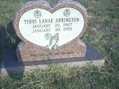 ARRINGTON, TERRI LANAE - Wise County, Texas | TERRI LANAE ARRINGTON - Texas Gravestone Photos