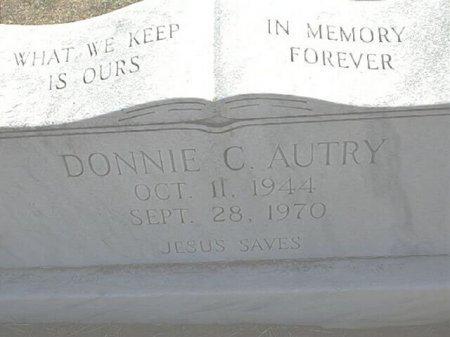 AUTRY (VETERAN VIET), DONNIE C. - Wise County, Texas   DONNIE C. AUTRY (VETERAN VIET) - Texas Gravestone Photos