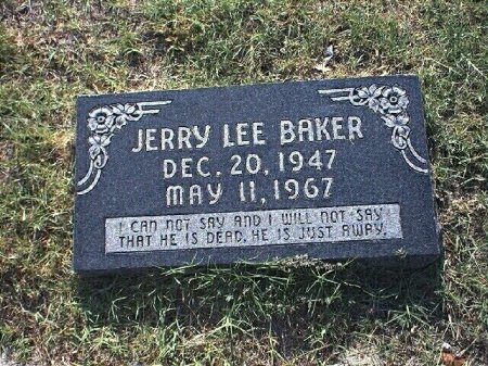BAKER, JERRY LEE - Wise County, Texas | JERRY LEE BAKER - Texas Gravestone Photos