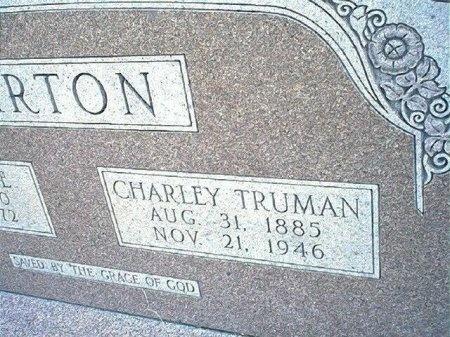 BARTON, CHARLEY TRUMAN - Wise County, Texas | CHARLEY TRUMAN BARTON - Texas Gravestone Photos