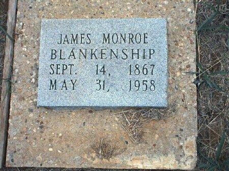 BLANKENSHIP, JAMES MONROE - Wise County, Texas | JAMES MONROE BLANKENSHIP - Texas Gravestone Photos