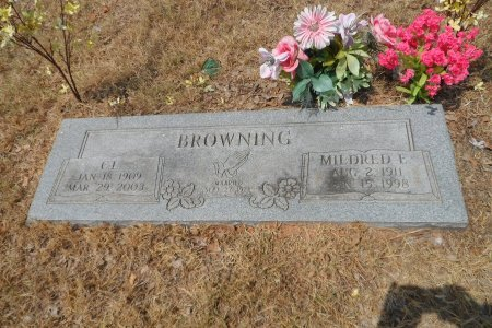 BROWNING, MILDRED EVELYN - Wise County, Texas | MILDRED EVELYN BROWNING - Texas Gravestone Photos