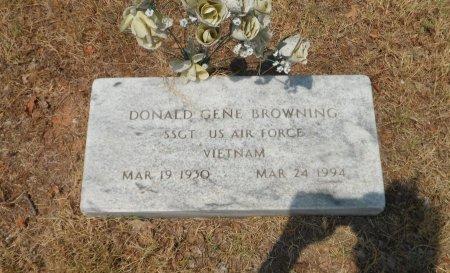 BROWNING, DONALD GENE - Wise County, Texas | DONALD GENE BROWNING - Texas Gravestone Photos