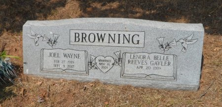BROWNING, LENORA BELLE - Wise County, Texas | LENORA BELLE BROWNING - Texas Gravestone Photos