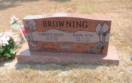 GILLEY BROWNING, CAROLYN - Wise County, Texas | CAROLYN GILLEY BROWNING - Texas Gravestone Photos