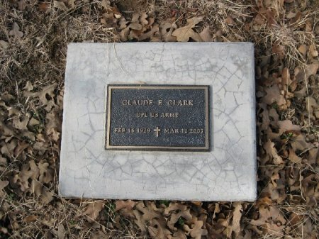 CLARK (VETERAN 2 WARS), CLAUDE E. - Wise County, Texas   CLAUDE E. CLARK (VETERAN 2 WARS) - Texas Gravestone Photos
