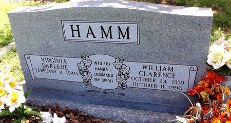 HAMM, WILLIAM CLARENCE - Wise County, Texas | WILLIAM CLARENCE HAMM - Texas Gravestone Photos