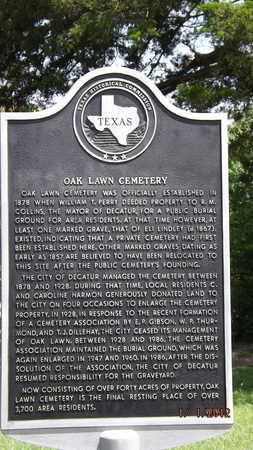 *HISTORIC MARKER,  - Wise County, Texas    *HISTORIC MARKER - Texas Gravestone Photos
