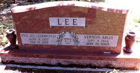 SERMONS LEE, EVA JO - Wise County, Texas | EVA JO SERMONS LEE - Texas Gravestone Photos