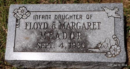 MEADOR, INFANT - Wise County, Texas | INFANT MEADOR - Texas Gravestone Photos
