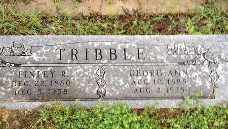 TRIBBLE, GEORG ANNE - Wise County, Texas | GEORG ANNE TRIBBLE - Texas Gravestone Photos