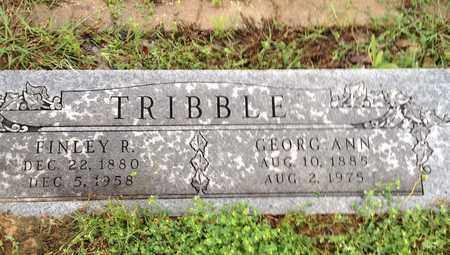 GORMAN TRIBBLE, GEORG ANNE - Wise County, Texas | GEORG ANNE GORMAN TRIBBLE - Texas Gravestone Photos