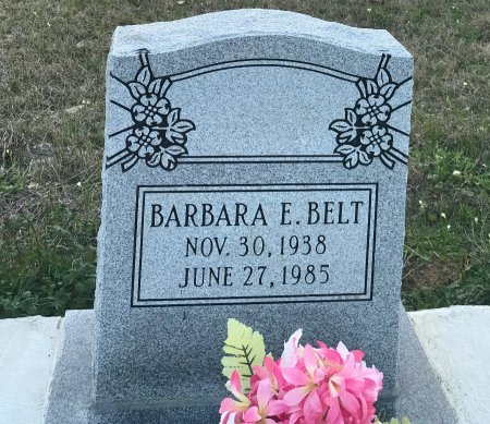 BELT, BARBARA E. - Wood County, Texas | BARBARA E. BELT - Texas Gravestone Photos