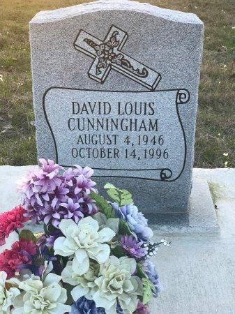 CUNNINGHAM, DAVID LOUIS - Wood County, Texas | DAVID LOUIS CUNNINGHAM - Texas Gravestone Photos