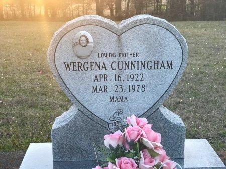 CUNNINGHAM, WERGENA - Wood County, Texas | WERGENA CUNNINGHAM - Texas Gravestone Photos
