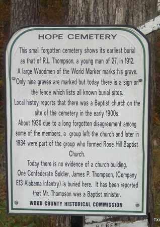 *HISTORIC MARKER,  - Wood County, Texas    *HISTORIC MARKER - Texas Gravestone Photos