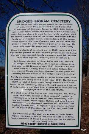 *HISTORIC MARKER, A - Wood County, Texas | A *HISTORIC MARKER - Texas Gravestone Photos