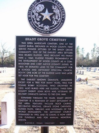*HISTORICAL MARKER,  - Wood County, Texas |  *HISTORICAL MARKER - Texas Gravestone Photos
