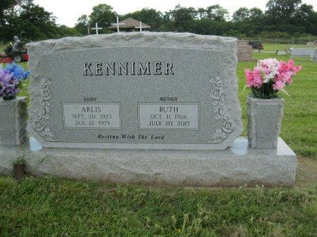 KENNIMER, ARLIS - Wood County, Texas | ARLIS KENNIMER - Texas Gravestone Photos