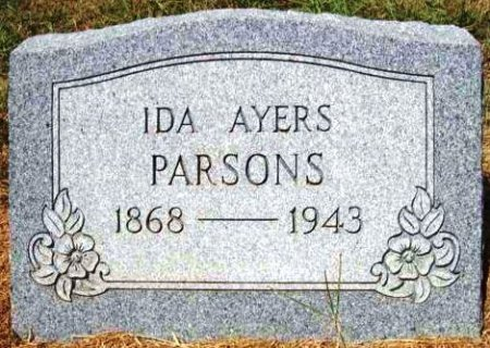AYERS, IDA - Wood County, Texas | IDA AYERS - Texas Gravestone Photos