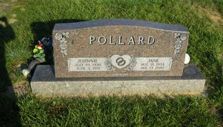 POLLARD, JANE - Wood County, Texas | JANE POLLARD - Texas Gravestone Photos