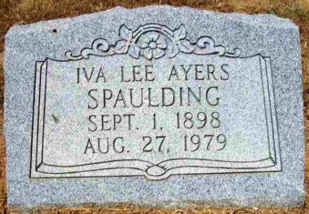 SPAULDING, IVA LEE - Wood County, Texas | IVA LEE SPAULDING - Texas Gravestone Photos