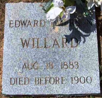 WILLARD, EDWARD EMERSON - Wood County, Texas | EDWARD EMERSON WILLARD - Texas Gravestone Photos