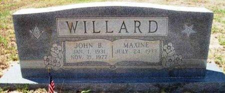 WILLARD, JOHN B. - Wood County, Texas | JOHN B. WILLARD - Texas Gravestone Photos