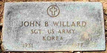 WILLARD (VETERAN KOR), JOHN B - Wood County, Texas | JOHN B WILLARD (VETERAN KOR) - Texas Gravestone Photos