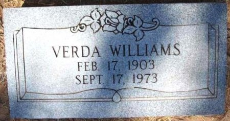 WILLIAMS, VERDA - Wood County, Texas | VERDA WILLIAMS - Texas Gravestone Photos