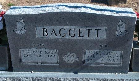 BAGGETT, FRANK CALVIN - Young County, Texas | FRANK CALVIN BAGGETT - Texas Gravestone Photos