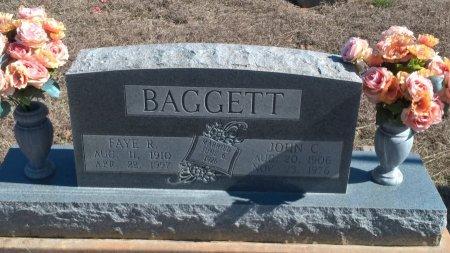 WYATT BAGGETT, FAYE REBECCA - Young County, Texas | FAYE REBECCA WYATT BAGGETT - Texas Gravestone Photos