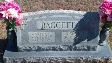 BAGGETT, MARTHA ELLEN - Young County, Texas | MARTHA ELLEN BAGGETT - Texas Gravestone Photos