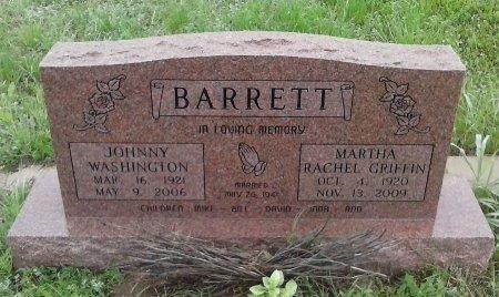 GRIFFIN BARRETT, MARTHA RACHEL - Young County, Texas | MARTHA RACHEL GRIFFIN BARRETT - Texas Gravestone Photos